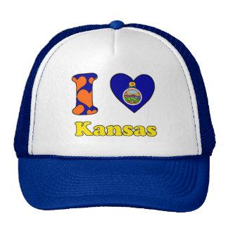 I love Kansas Trucker Hat