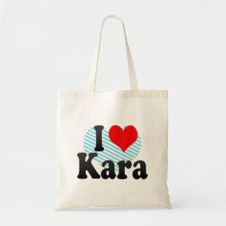 I love Kara Tote Bag