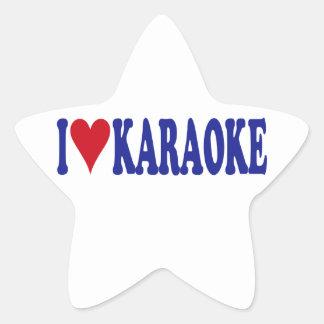 I Love Karaoke Stickers
