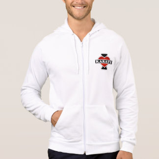 I Love Karate Hooded Pullovers