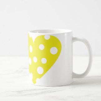 I love käse icon coffee mug