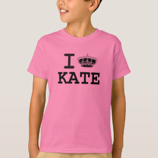 I LOVE KATE - CROWN T-Shirt