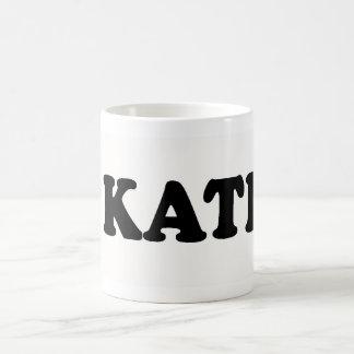 I LOVE KATHY CLASSIC WHITE COFFEE MUG