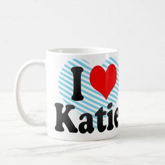 I love Katie Basic White Mug