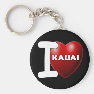 I Love Kauai, Hawaii Key Ring