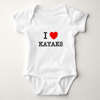 I Love Kayaks Shirts