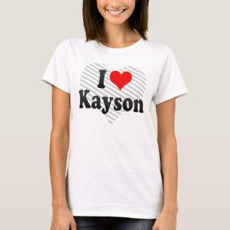I love Kayson T-Shirt