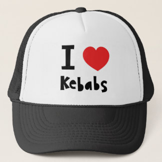 I love Kebabs Trucker Hat