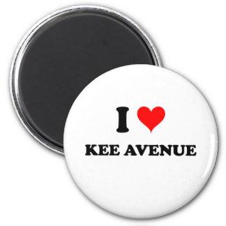 I Love Kee Avenue Alabama Fridge Magnet