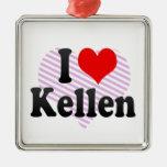 I love Kellen Ornaments