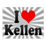 I love Kellen Postcards