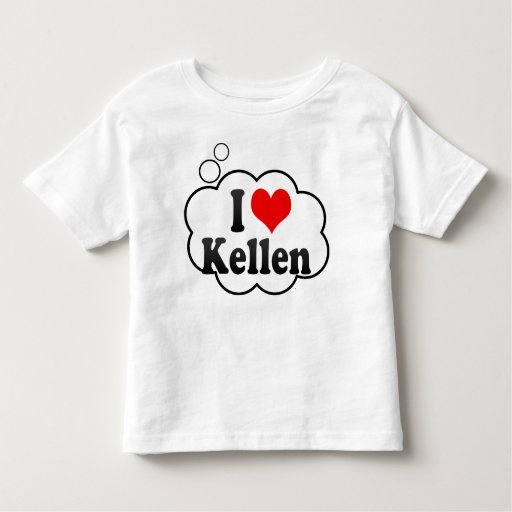I love Kellen Tshirt