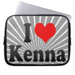 I love Kenna Laptop Sleeves
