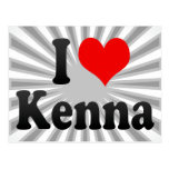 I love Kenna Post Cards
