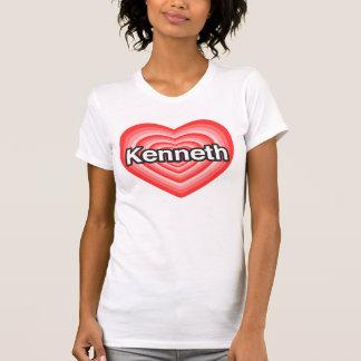 I love Kenneth. I love you Kenneth. Heart T-Shirt