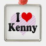 I love Kenny Christmas Tree Ornaments