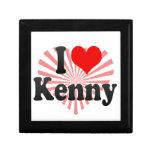 I love Kenny Keepsake Box