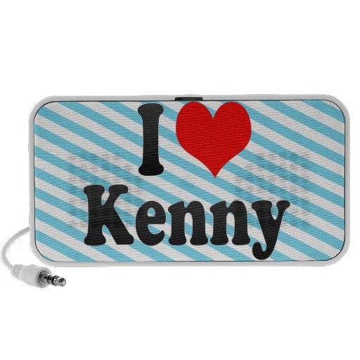 I love Kenny Mini Speakers