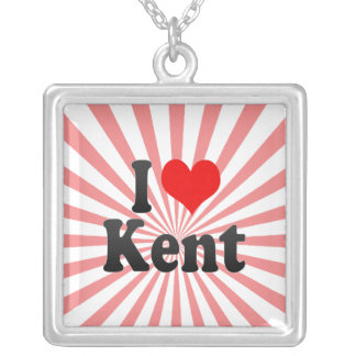 I Love Kent, United States Custom Jewelry