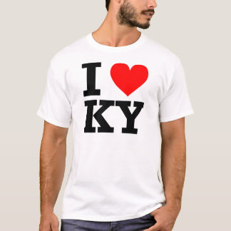 I Love Kentucky Design T-Shirt