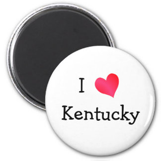 I Love Kentucky Magnet