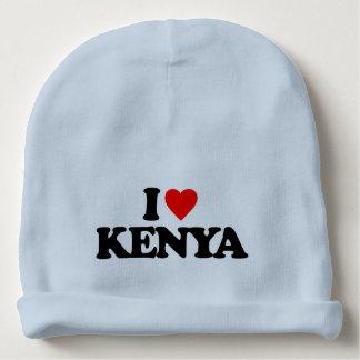 I LOVE KENYA BABY BEANIE