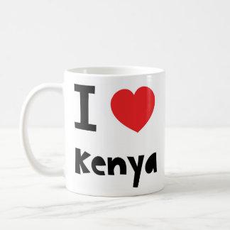 I love Kenya Coffee Mug