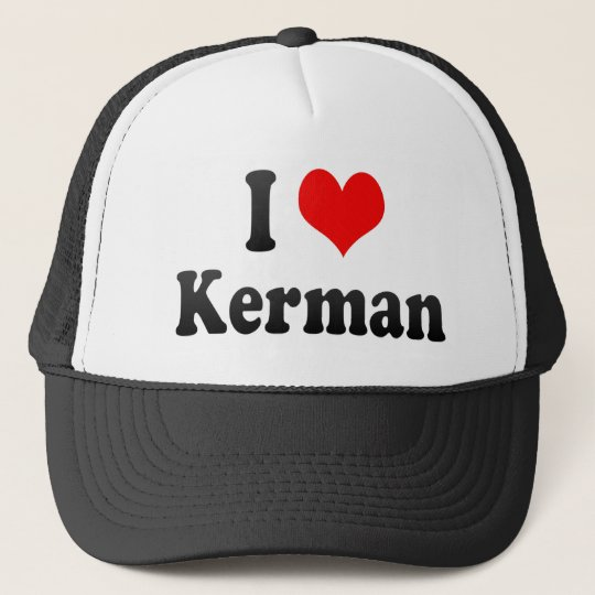 I Love Kerman, Iran Cap