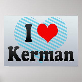 I Love Kerman, Iran Poster