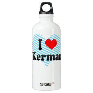 I Love Kerman, Iran SIGG Traveller 0.6L Water Bottle