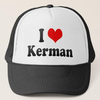 I Love Kerman, Iran Trucker Hat