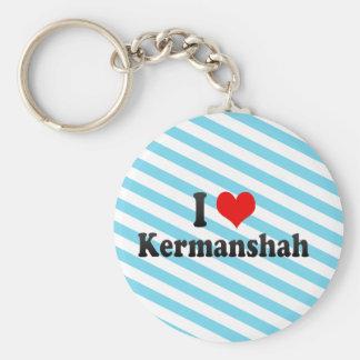 I Love Kermanshah, Iran Key Ring