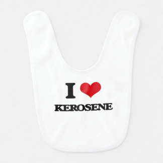 I Love Kerosene Baby Bibs