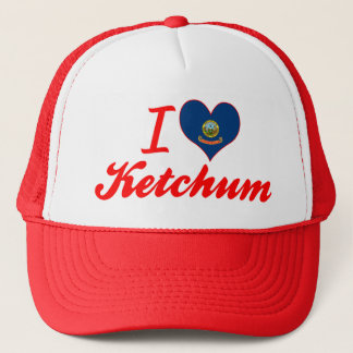 I Love Ketchum, Idaho Trucker Hat