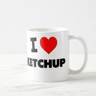 I Love Ketchup Coffee Mug