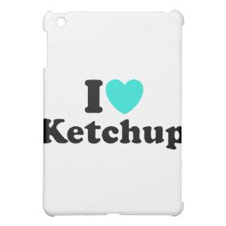 I Love Ketchup iPad Mini Cases