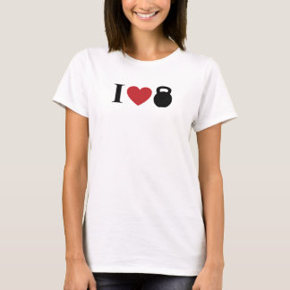 I LOVE KETTLEBELL T-Shirt