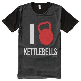 I love kettlebells All-Over print T-Shirt