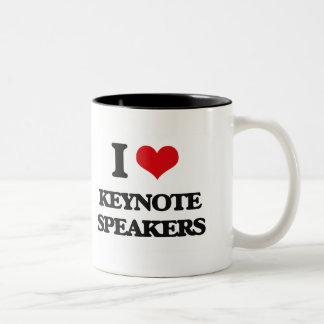 I Love Keynote Speakers Mug