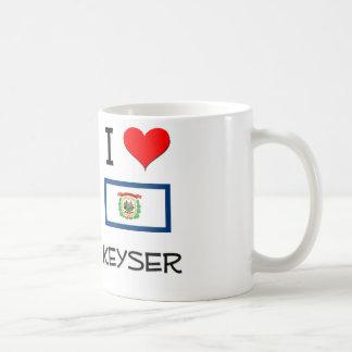 I Love Keyser West Virginia Basic White Mug