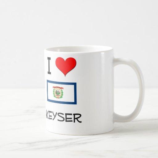I Love Keyser West Virginia Mugs
