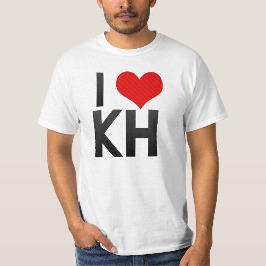 I Love KH T-Shirt