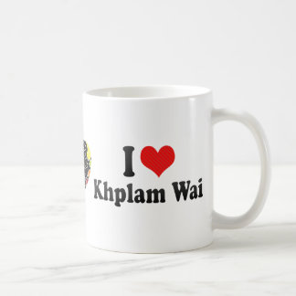 I Love Khplam Wai Basic White Mug