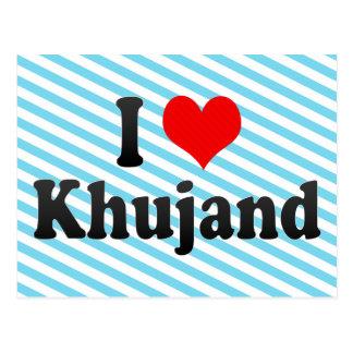 I Love Khujand, Tajikistan Postcard