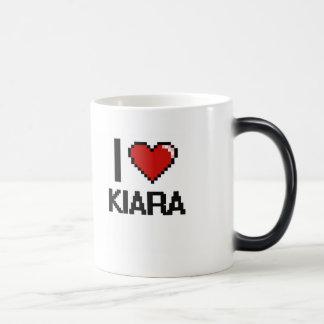 I Love Kiara Digital Retro Design Morphing Mug