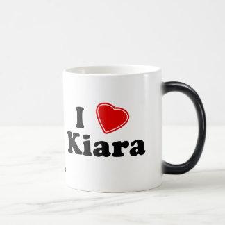 I Love Kiara Morphing Mug