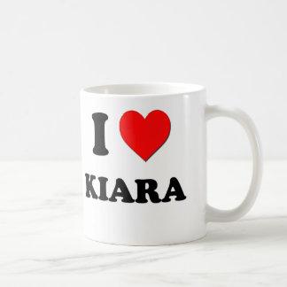 I Love Kiara Coffee Mug