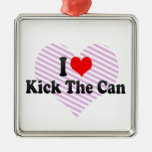 I love Kick The Can Christmas Ornaments