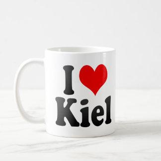 I Love Kiel, Germany. Ich Liebe Kiel, Germany Basic White Mug