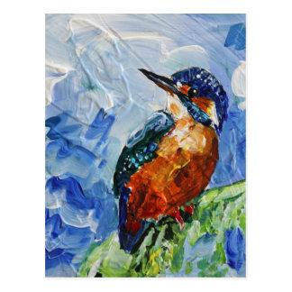 I love Kigfishers Postcard